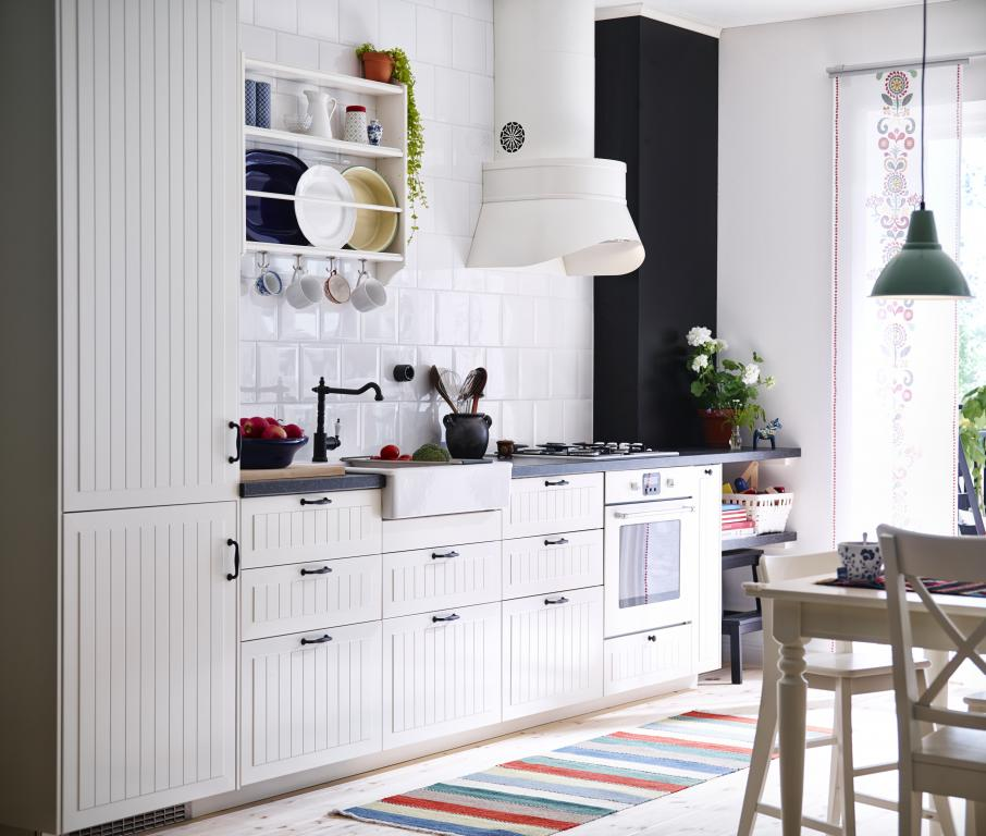 Kok Ikea Inspiration : Kok On Pinterest White Kitchens Inredning And Dry Brush Painting Ikea