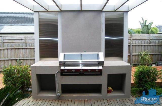 Outdoor kitchens inspiration blue leaf creations pty ltd for Outdoor kitchen designs australia