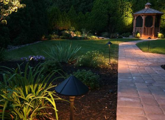 Outdoor Lighting Ideas by Sams Garden Design