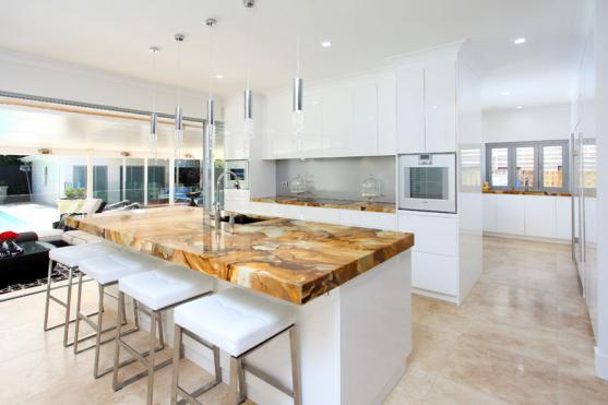 Get inspired by photos of kitchen benchtops from for Kitchen benchtop ideas