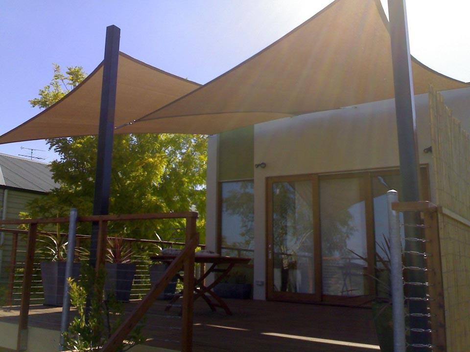 Shade sails inspiration yarra shade co australia for Colorado shade sail