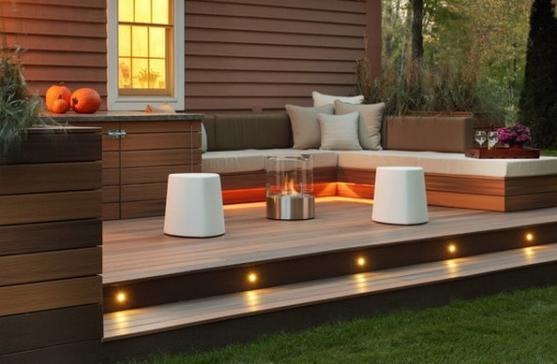 Elevated Decking Ideas by Action Patios And Sheds