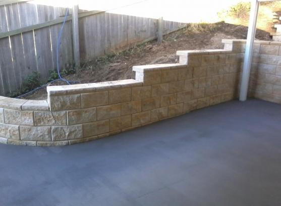 Retaining Wall Design Ideas by Trendscape Landscape Construction