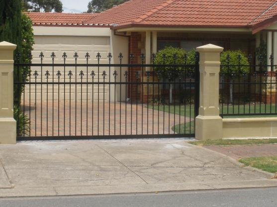 Wrought Iron Gates by Adelaide Gate Automation