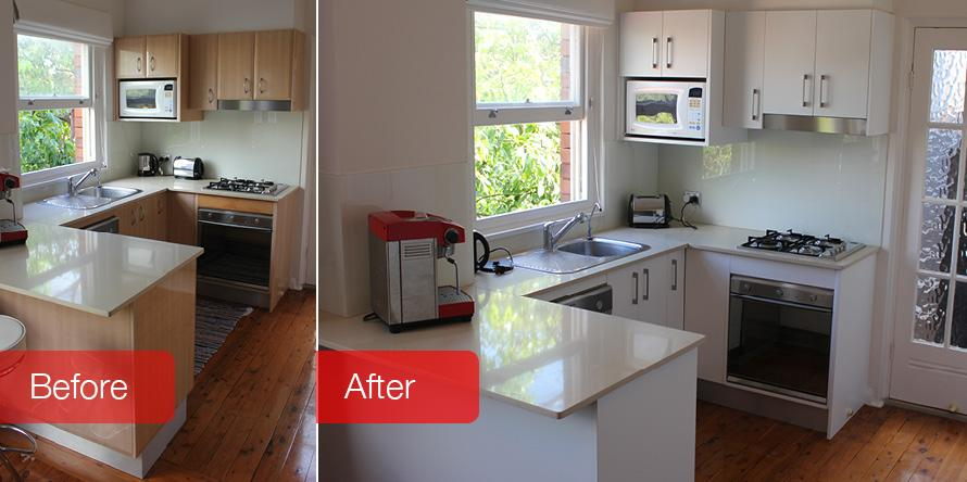 Kitchen facelifts renovations galleries dream doors for Kitchen renovations western sydney