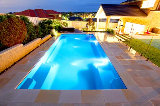 Lap Pool Designs by Local Pools and Spas