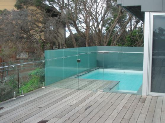 Plunge Pool Designs by Peninsula Glass and Screens