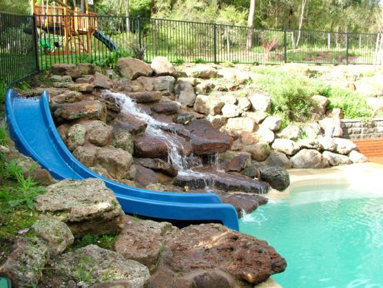 Waterslide Designs by Seaspray Pools