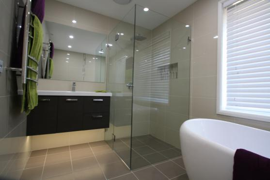 Frameless Shower Screen Designs by Sydney Bathrooms