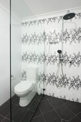 Frameless Shower Screen Designs by Suncoast Bathroom Renovations