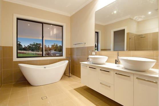 Bath Designs  by A & R Cabinets and Trade Wardrobes