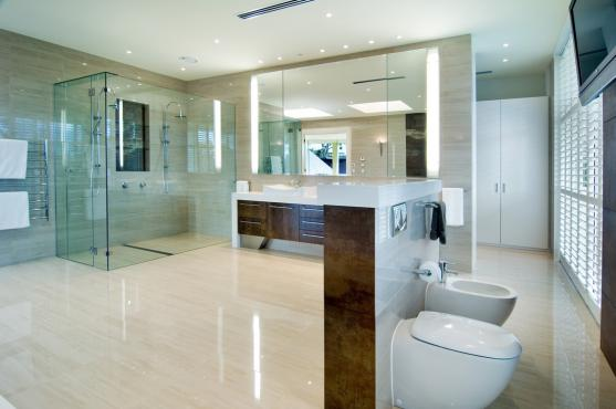 Frameless Shower Screen Designs by Brisbane Tiling Pro
