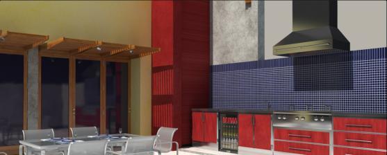 Kitchen Tile Design Ideas by Deluxe Alfresco