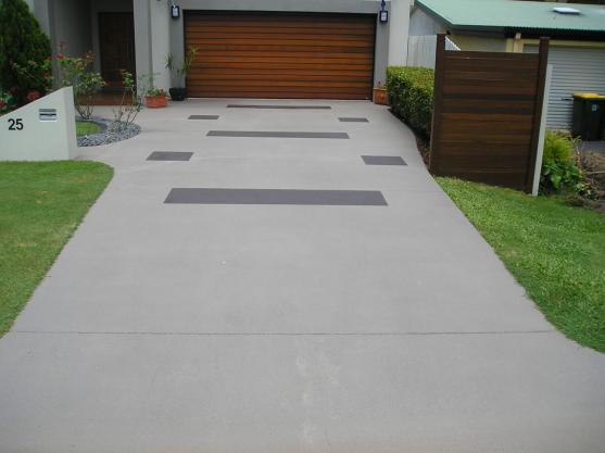 Driveway Designs by Coolum Exteriors - www.coolumexteriors.com.au