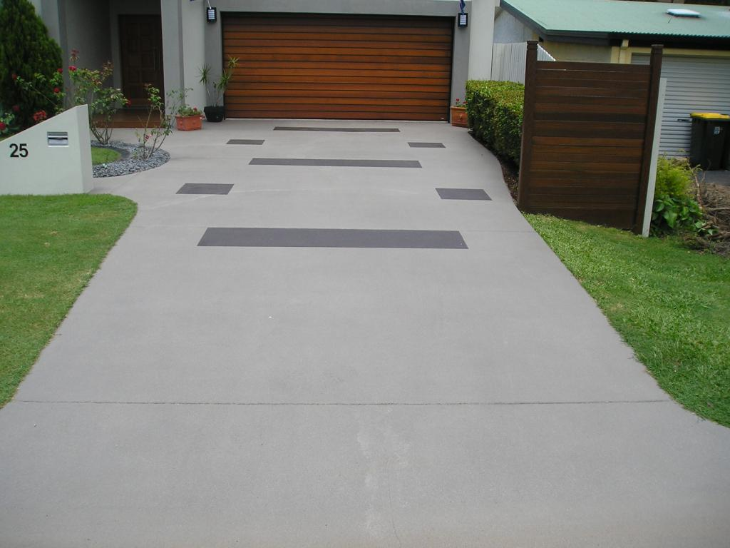 How much does concreting cost for How to make designs in concrete