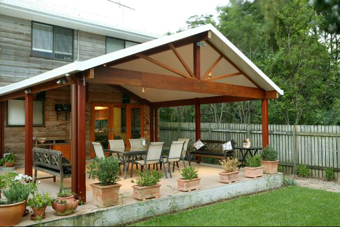 Patios inspiration solar span patios australia for Gable patio designs