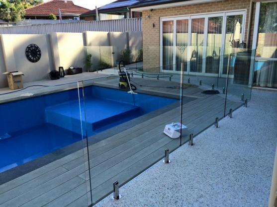 Pool Decking Design Ideas by B&M Outdoor Features