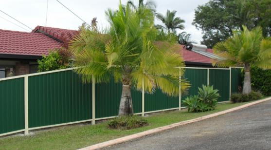 Colorbond Fencing Desgins by Oz West Fencing & Gates