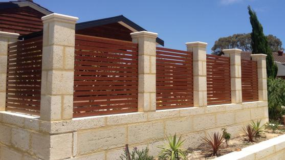 Brick Fencing Designs by Perth Gates and Privacy Screens