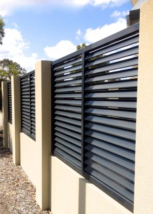 Colorbond Fencing Desgins by Perth Gates and Privacy Screens