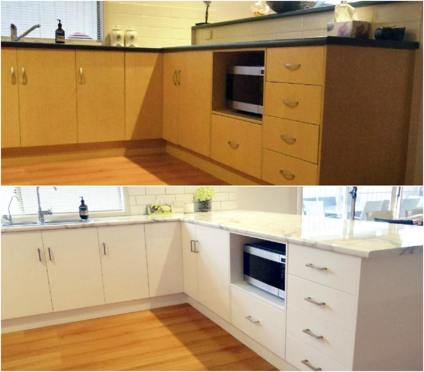 eco kitchen resurfacing adelaide metro and regional