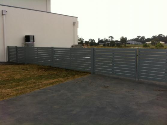 Colorbond Fencing Desgins by Cumbo's Custom Fabrications