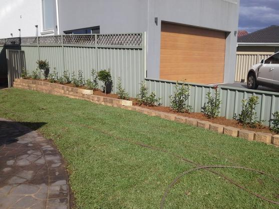 Garden Edging Ideas by Treestone Landscaping Pty Ltd