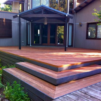 Elevated Decking Ideas by Total Decking