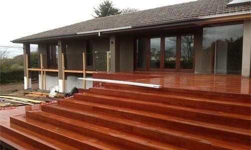 Elevated Decking Ideas by EHM Wally's Executive Home Management