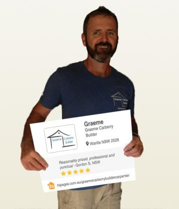 Say hi to great tradies by Graeme Carberry Builder
