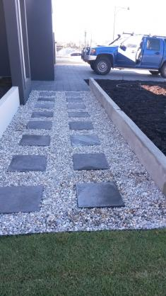 Garden Path Design Ideas by Evenflow Landscaping & Reticulation