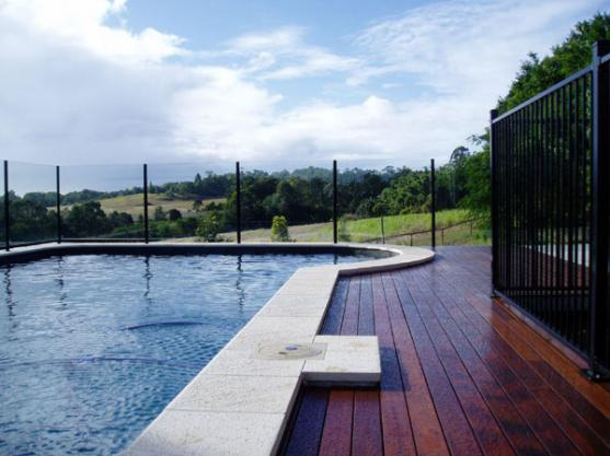 Pool Decking Design Ideas by Fencescape