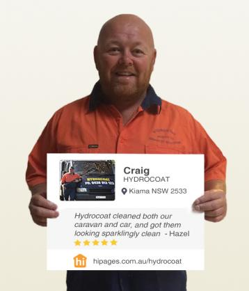 Say hi to great tradies by HYDROCOAT