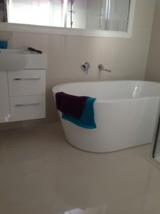 Freestanding Bath Design Ideas by Kj's Tiling Service