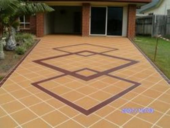 Driveway Designs by Spray Pave Brisbane & Gold Coast