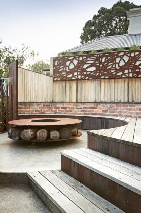 Fire Pit Design Ideas by Paal Grant Designs in Landscaping