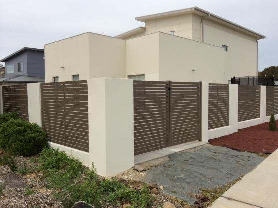 Brick Fencing Designs by Property Enhancement Services