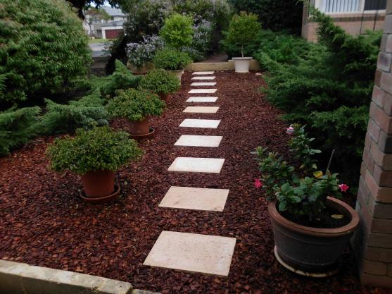 Garden Path Design Ideas by GG  GENERAL MAINTENANCE SERVICE