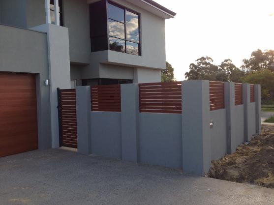 Brick Fencing Designs by A & K Quality Gates and Fencing