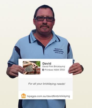 Say hi to great tradies by David Flint Bricklaying