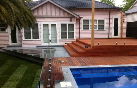 Elevated Decking Ideas by The Landscape Company Victoria Pty Ltd