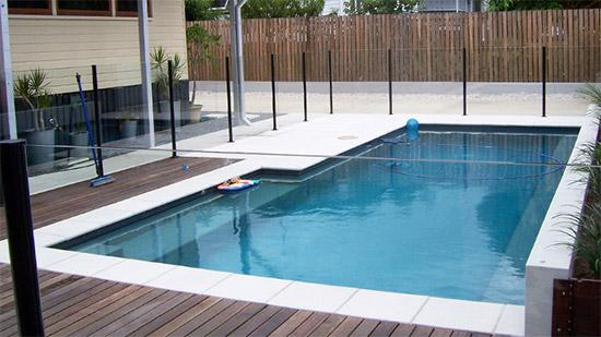Pool Decking Design Ideas by Glassfit Australia