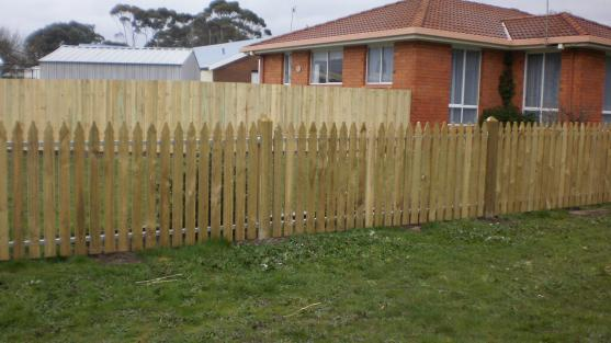 Picket Fencing Designs by Fisher Fencing