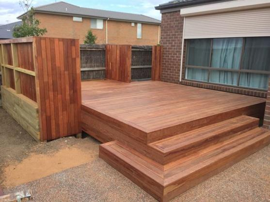 Elevated Decking Ideas by XSell Landscaping Constructions & Designs