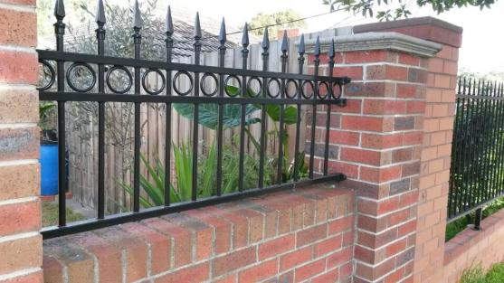 Brick Fencing Designs by 8 star fencing & gates solution pty