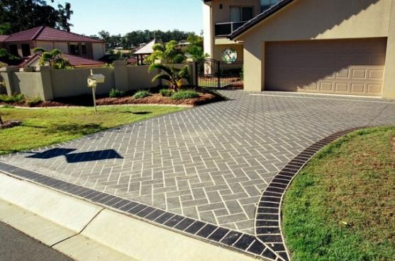 cheapdrivewayideas ideas inside front yard landscaping with ...