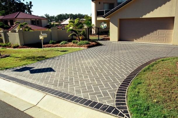 Driveways Inspiration Cobbleprint Concrete Australia