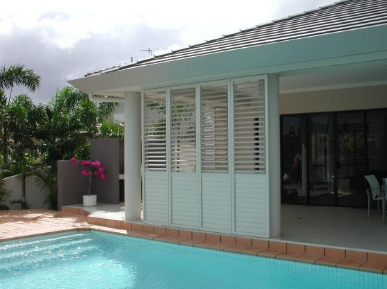 Outdoor Shutter Designs  by Southern Shutters