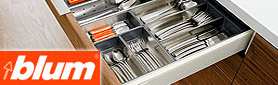 Stainless Steel Dividing System from Blum