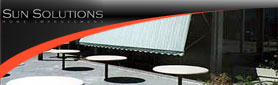 Sunsolutions - Canvas & Sunscreen Awnings